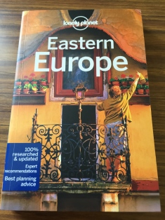 Lonely Planet Eastern Europe, last two editions