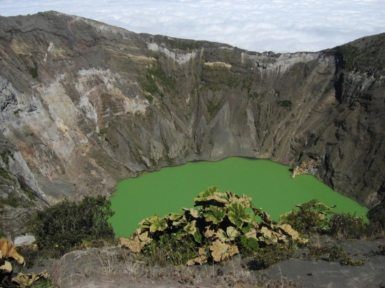 One of Costa Rica's incredible volcanic craters...