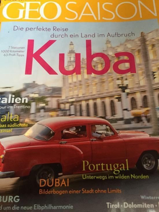 Kuba! - GeoSaison's January cover story